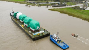 combwich wharf osprey First Delivery